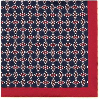 Gucci Pocket square with geometric G