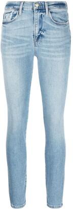 Frame Skinny-Fit Washed Jeans