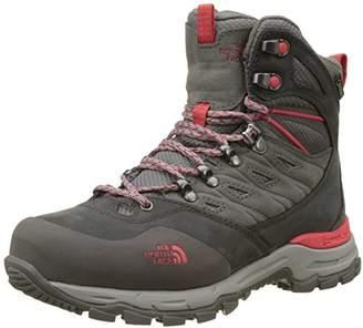 The North Face Women's W HEDGEHOG TREK GTX High Rise Hiking Boots, Grey (DARK GULL GREY/MELON RED QDK), (40 EU)