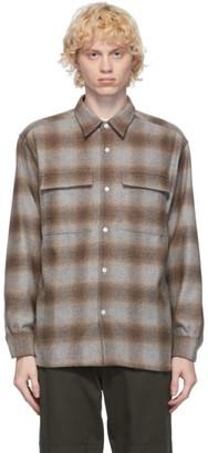 Hope Beige Flannel Base Over Shirt