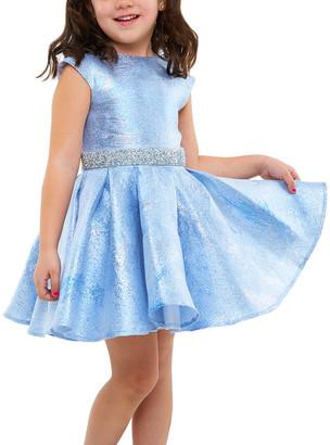 Halabaloo Sparkle Organza Dress
