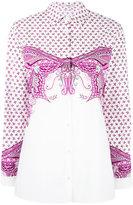 Etro baroque print shirt - women - Cotton/Spandex/Elastane - 50