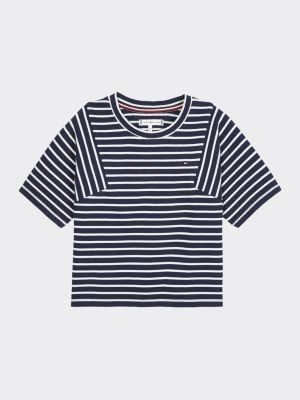 Tommy Hilfiger Stripe Pure Cotton T-Shirt