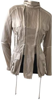 Gianfranco Ferre Beige Synthetic Jackets