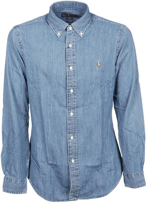 Ralph Lauren Button-down Denim Shirt