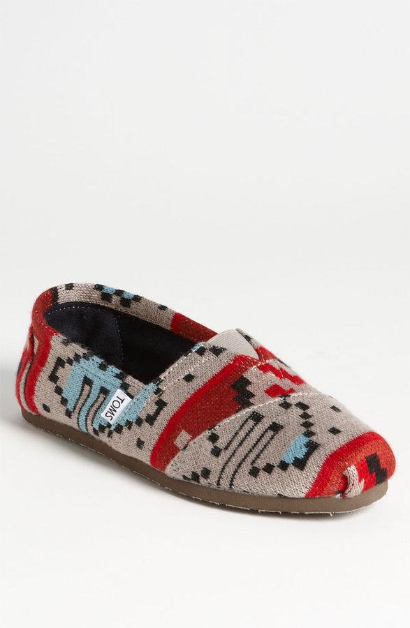 Toms 'Classic - Novelty Knit' Slip-On (Men)