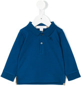 Burberry longsleeved polo shirt - kids - Cotton - 12 mth