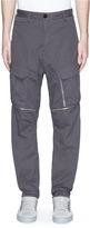 Stone Island Garment dye poplin cargo pants