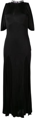 ATTICO The front split gown
