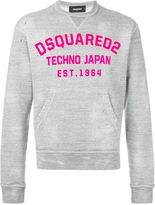 DSQUARED2 logo appliqué sweatshirt