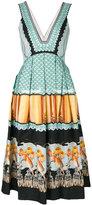 Temperley London Foxglove printed dress