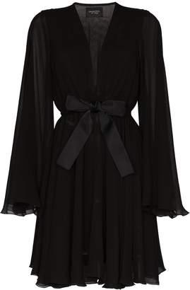 Giambattista Valli bow-detailed silk mini dress