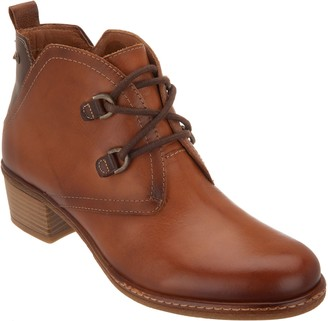 PIKOLINOS Leather Lace-Up Ankle Boots - Zaragoza