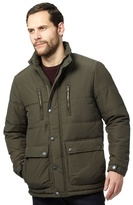 Maine New England Dark Green Quilted Coat