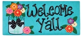 Evergreen Welcome Y'all Mat
