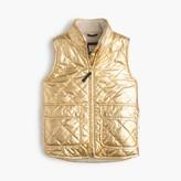 J.Crew Girls' puffer vest