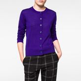 Paul Smith Women's Indigo Merino Wool Cardigan