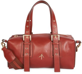 Atelier Manu Tetra Leather Shoulder Bag