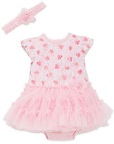 Little Me Two-Piece Tutu Dress and Headband