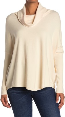 Cyrus Cowl Neck Long Sleeve Tunic