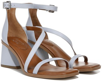 Franco Sarto Strappy Leather Heeled Sandals - Sunei