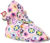 Zutano Flower Shower Bootie (Baby) - Pink - 3 Months