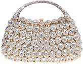 Santimon Women Clutch Luxury Bling Purse Crystal Rhinestone Clutch Evening Bags with Removable Strap