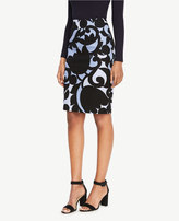 Ann Taylor Tulip Pencil Skirt