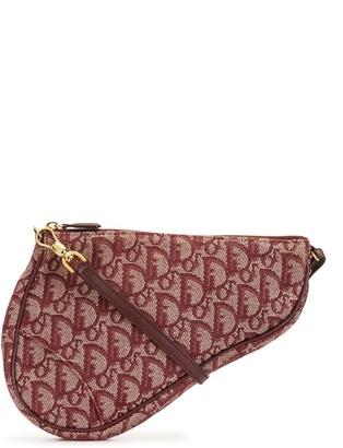 Christian Dior pre-owned Trotter Saddle top-handle bag