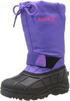Kamik Reddeer4 Toddler US 10 Purple Snow Boot EU 27