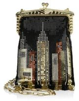 Whiting & Davis Limited Edition Skyline Mesh & Crystal Crossbody Bag