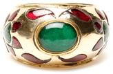 Amrita Singh Nimra 18K Yellow Gold, Ruby & Emerald Floral Ring