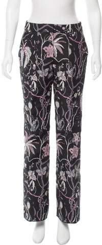 Giamba Mid-Rise Patterned Pants w/ Tags