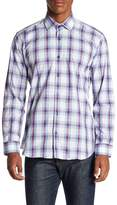 Jared Lang Check Slim Fit Shirt