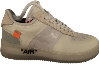 Nike x Off-White Air Force 1 White Plastic Trainers
