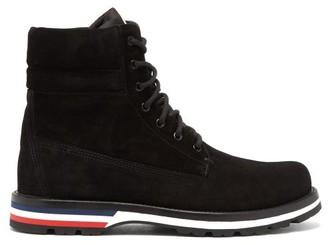 Moncler Vancouver Suede Boots - Mens - Black