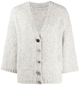 BA&SH Cropped Sleeve Cardigan