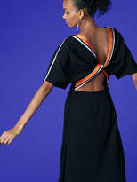 Diane von Furstenberg Open Backed Ribbon Dress