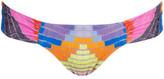 Mara Hoffman Women's Radial Side Ruch Bikini Bottoms - Fig