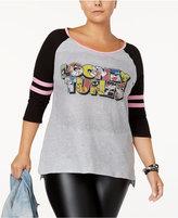 Hybrid Trendy Plus Size Looney Tunes Graphic T-Shirt