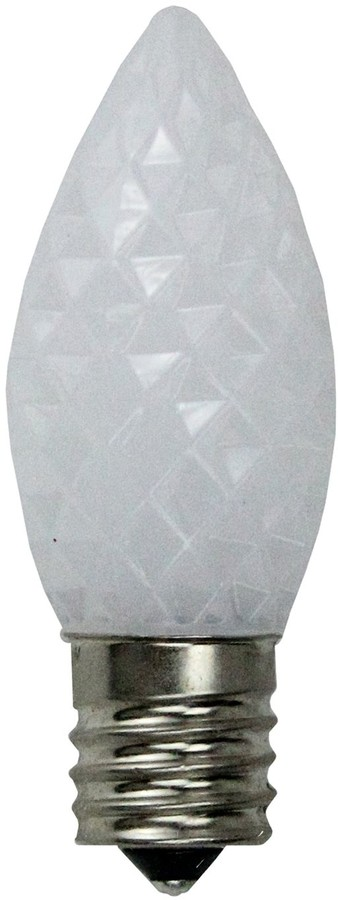 Replacement Christmas Bulbs.Northlight Seasonal 25 White Faceted Led C9 Replacement Christmas Bulbs