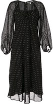 ALEXACHUNG Alexa Chung floral pattern layered dress