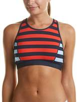 Tommy Hilfiger High-neck Crop Top.