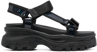 Tommy Jeans Chunky Touch-Strap Sandals