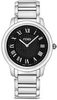 Fendi Large Stainless Steel Classico Watch, 40mm