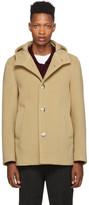 Herno Tan Wool Thick Coat