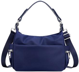 Ella & Elly Women's Handbags Blue - Blue Shoulder Bag