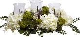 Asstd National Brand Snowball Hydrangea Triple Candelabrum