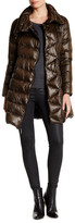 Vince Camuto Asymmetric Mid Down Coat