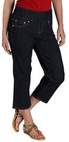 Jag Jeans Jag Jean Women's Echo Crop Jean In Comfort Denim Dark Shadow